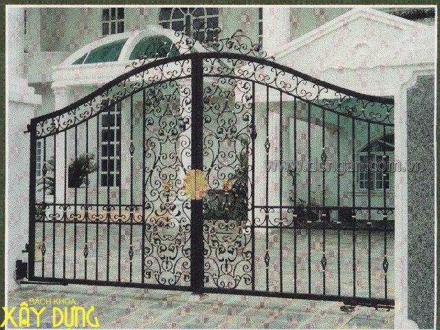 Làm cửa sắt, cầu thang sắt tại quận Gò Vấp/ 0936890585